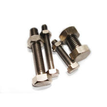 Brass black Round head carriage bolts